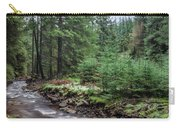 Beautiful Ethereal Style Landscape Image Of Small Brook Flwoing  Carry-all Pouch