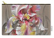 Beautiful Fantastic Realistic Flowers Carry-all Pouch