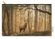 Beautiful Landscape Image Of Still Stream In Lake District Fores Carry-all Pouch