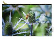 Bee's Got The Blues Carry-all Pouch by Susan Warren