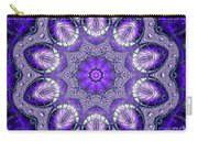 Bejeweled Easter Eggs Fractal Abstract Carry-all Pouch by Rose Santuci-Sofranko
