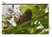 Berries And Waxwing Carry-all Pouch