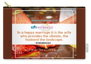 Best Matrimony In Chennai Carry-all Pouch
