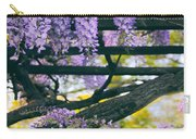 Wisteria Draped Trellis  Carry-all Pouch