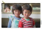 Bhutan Twins Carry-all Pouch