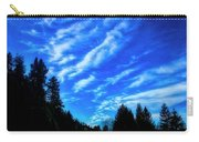 Big Sky And Trees Carry-all Pouch