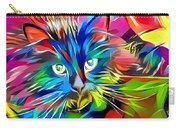 Big Whiskers Cat Carry-all Pouch by Don Northup