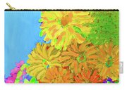 Biggie Flowers Sky Carry-all Pouch