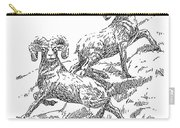 Bighorns Carry-all Pouch