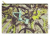 Bikes And City Routes Carry-all Pouch