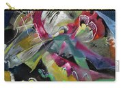 Bild Mit Weissen Linien - Painting With White Lines Carry-all Pouch