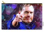 Bill Belichick Spotlight Portrait Carry-all Pouch