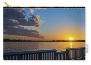Bill Burton Pier At Sunset Carry-all Pouch