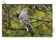Mockingbird In Tree Carry-all Pouch