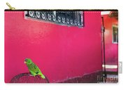 Bird On Cage Carry-all Pouch