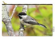 Chickadee On Tree Carry-all Pouch