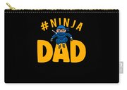 Birthday Ninja Party Dad Apparel Carry-all Pouch