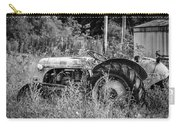 Black And White Tractor Carry-all Pouch
