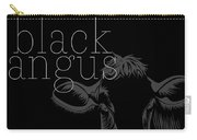 Black Angus Carry-all Pouch
