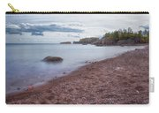 Black Beach Park Carry-all Pouch by Susan Rissi Tregoning