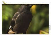 Black Currawong Bird Carry-all Pouch