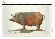 Black Iberian Pig Carry-all Pouch