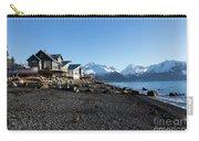 Black Sand Beach In Seward Alaska Carry-all Pouch