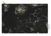 Black, Silver And Gold Abstract Carry-all Pouch