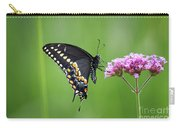 Black Swallowtail Balance Carry-all Pouch