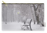 Blizzard In The Park Carry-all Pouch