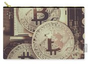 Blocks Of Bitcoin Carry-all Pouch