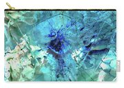 Blue Abstract Art - Heaven's Gate - Sharon Cummings Carry-all Pouch