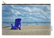 Blue Beach Chair Provincetown Cape Cod Massachusetts 01 Carry-all Pouch