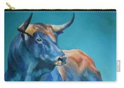 Blue Bull Carry-all Pouch