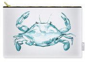 Blue Crab Turcoise Carry-all Pouch