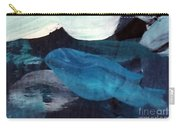 Blue Fish Carry-all Pouch by Maria Langgle