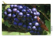 Blue Grape Bunches 5 Carry-all Pouch