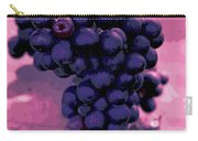 Blue Grape Bunches 6 Carry-all Pouch