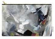 Blue Grey Carry-all Pouch by John Jr Gholson