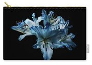 Blue Lilies Carry-all Pouch