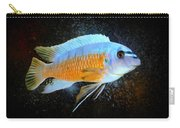 Blue Mbuna Cichlid Carry-all Pouch