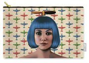 Blue Propeller Gal Carry-all Pouch