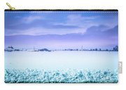 Blue Sky, White Field Carry-all Pouch