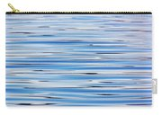 Blue Water Abstract 8621 Carry-all Pouch