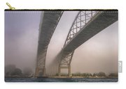 Blue Water Bridge Fog Carry-all Pouch