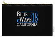 Blue Wave California Vote Democrat 2018 Carry-all Pouch