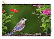 Bluebird Chick Carry-all Pouch