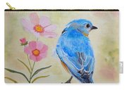 Bluebird Prom Day Carry-all Pouch by Angeles M Pomata