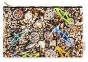 Bmx Pebble Race Carry-all Pouch