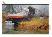 Boat In Drydock Carry-all Pouch